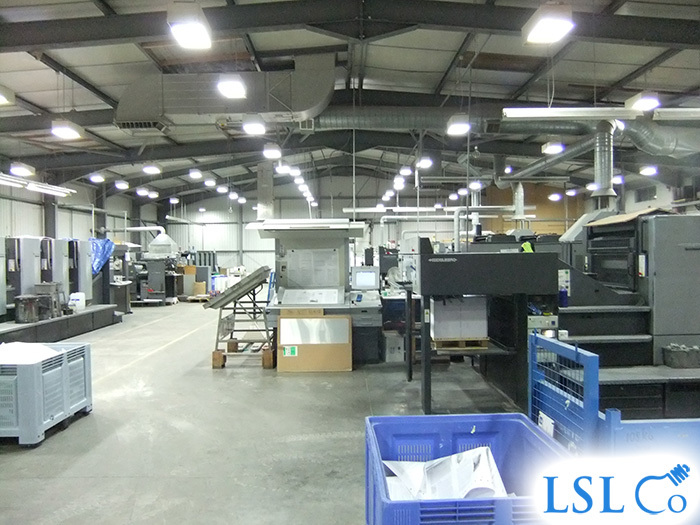 Low Bay Induction Lighting – Dorchester 2011